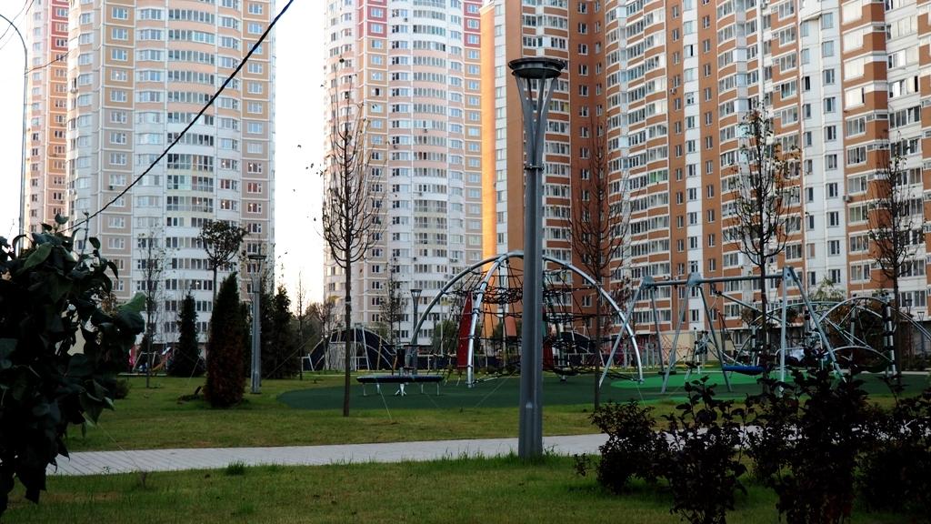 град Московский 1 город-парк озеленение