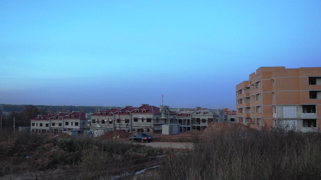 Таун-хаусы в строящемся районе в Марьино