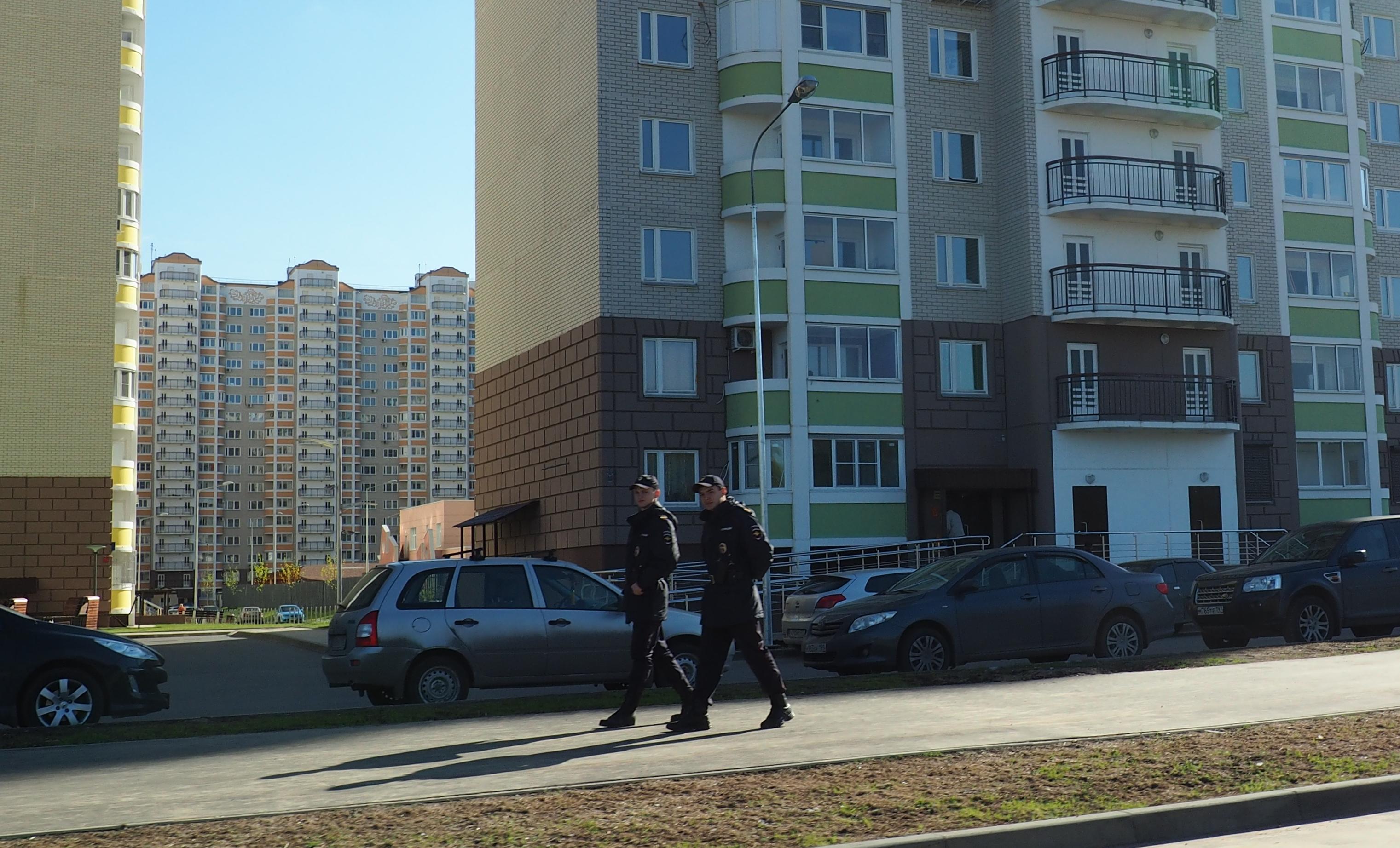 патруль в граде Московском