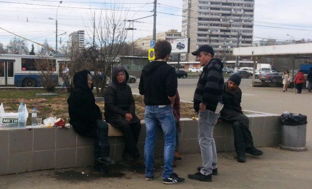 Число замерзших на улицах Москвы бездомных снизилось в шесть раз за пять лет