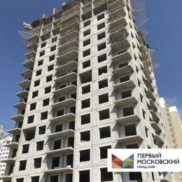 строительства монолитных корпусов 5 фазы Первого Московского города-парка